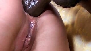 Petite glam eurobabe fucked by a black guy