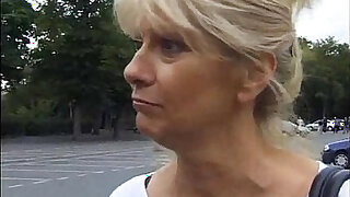 My french Anal Granny