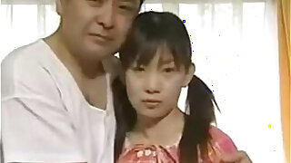 Japanese Father fuck his own daughter Sexy Schoolgirl fucked in home