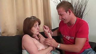 Old mother in law forced into taboo sex