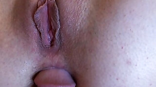 Anal loving girlfriend gets ass fucked
