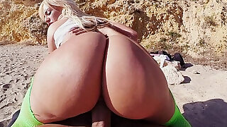 Blonde wife with Huge Rack and Huge Ass