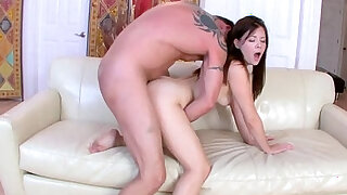 Alison Rey fuck by her step dad sideways drilling her pussy