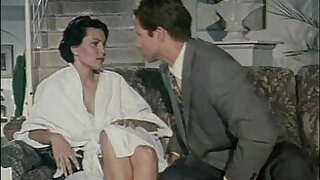 Hot vintage porn video with a hot woman who cheats on her husband