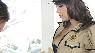 TittyAttack Busty Cop Cassidy Banks Likes It Rough!