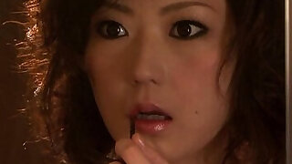 Closeup asian fucked by her partner