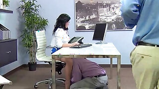 casey cumz Big Tits Office with Slut Girl Get Hard doggy Style Nailed video
