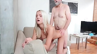 Young girl Joleyn Burst fucked by old dude Pavel Terrier